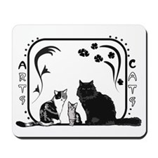 Arts and Cats Mousepad