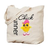 Runner Chick Tote Bag