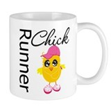 Runner Chick Small Mug