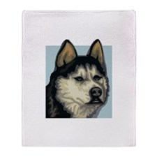 Husky Throw Blanket