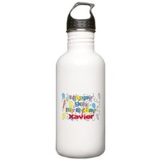 Happy Birthday Xavier Water Bottle