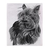 Silky Terrier Throw Blanket