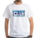 Minneapolis License Plate Shirt