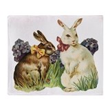 Easter Bunnys Throw Blanket