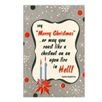 Roast in Hell Postcards (Package of 8)