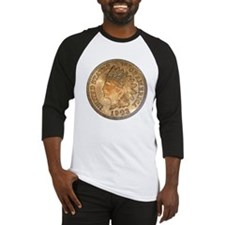 Indian Head Penny Double-Sided Baseball Jersey