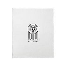 Dharma Initiative Throw Blanket
