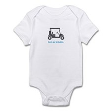 Golf - Carts - Infant Bodysuit (Blue)