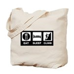 eat seep climb Tote Bag