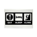 eat seep climb Rectangle Magnet (100 pack)
