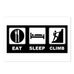eat seep climb Postcards (Package of 8)