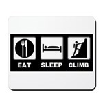 eat seep climb Mousepad