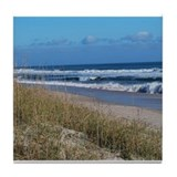Beachfront Beauty Tile Coaster