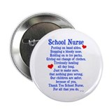 "School Nurse 2.25"" Button (10 pack)"