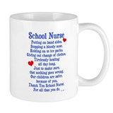 School Nurse Small Mugs