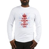 Funny British Long Sleeve T-Shirt