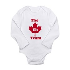 The Eh Team Long Sleeve Infant Bodysuit
