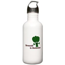 Broccoli is Awesome! Sports Water Bottle