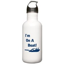 I'm On A Boat 2 Water Bottle