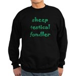 Sheep Testical Fondler Sweatshirt (dark)
