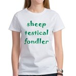 Sheep Testical Fondler Women's T-Shirt