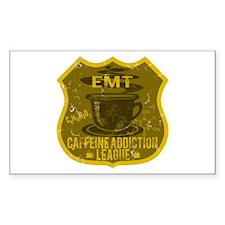 EMT Caffeine Addiction Decal