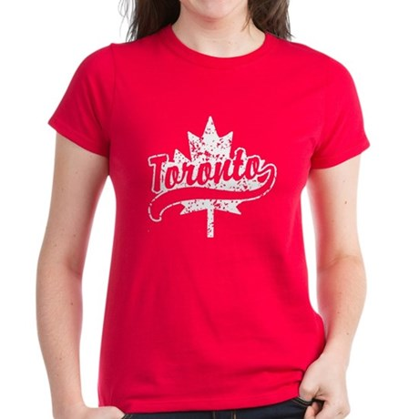 Toronto Canada Women's Dark T-Shirt