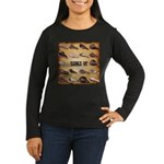 Saddle Up Women's Long Sleeve Dark T-Shirt