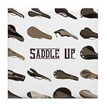 Saddle Up Tile Coaster