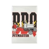 BBQ Pitmaster Rectangle Magnet