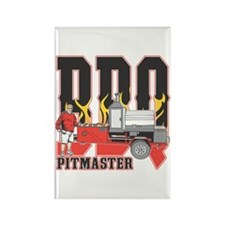 BBQ Pitmaster Rectangle Magnet (10 pack)