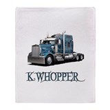 K Whopper Throw Blanket