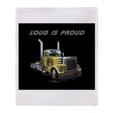 Loud is Proud Throw Blanket