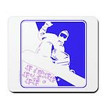Snowboarding Pop Art Mousepad