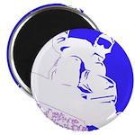 Snowboarding Pop Art Magnet