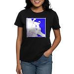 Snowboarding Pop Art Women's Dark T-Shirt
