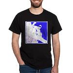 Snowboarding Pop Art Dark T-Shirt