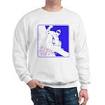 Snowboarding Pop Art Sweatshirt