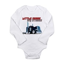 Little Shack Big Stacks Long Sleeve Infant Bodysui