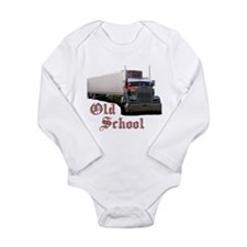 Old School Long Sleeve Infant Bodysuit