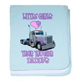 Peterbilt Baby Blankets
