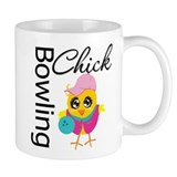 Bowling Chick Small Mug