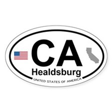 Healdsburg Decal
