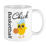 Basketball Chick Small Mug