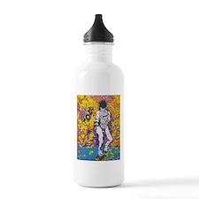 """Foil Girl"" Water Bottle"