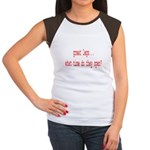 Great Legs What Time Do They Women's Cap Sleeve T-