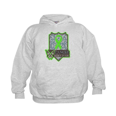 Lymphoma Cancer Survivor Kids Hoodie