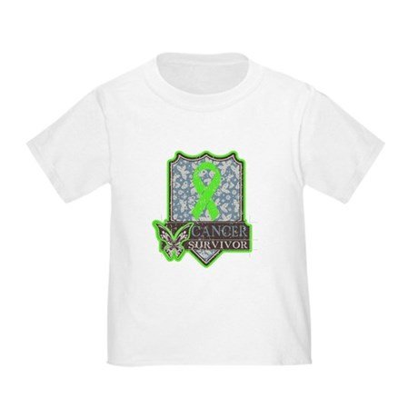 Lymphoma Cancer Survivor Toddler T-Shirt