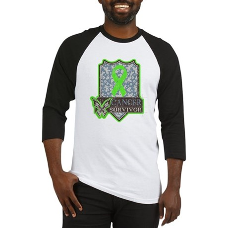 Lymphoma Cancer Survivor Baseball Jersey