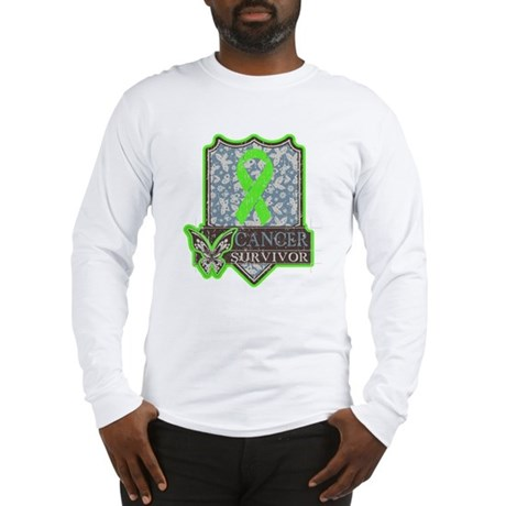 Lymphoma Cancer Survivor Long Sleeve T-Shirt